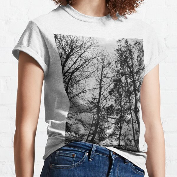 Carving Shadows into an Anemic Sky  Classic T-Shirt