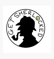 Sherlocked Photographic Print