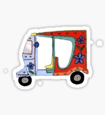 Rickshaw Sticker