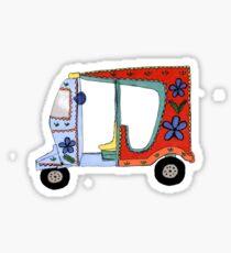 Rickshaw Sticker