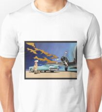 Vintage Travel  Cadillac classic car Unisex T-Shirt