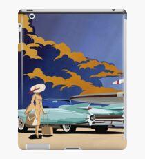 Vintage Travel  Cadillac classic car iPad Case/Skin