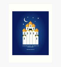 Literary Classics Illustration Series: Arabian Nights Art Print