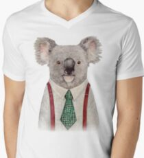 Koala Men's V-Neck T-Shirt