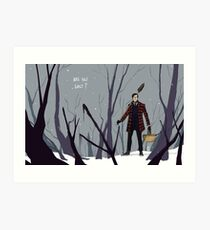 Into the Woods: Are You Lost? Art Print