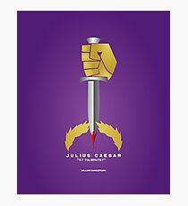 Literary Classics Illustration Series: Julius Caesar Photographic Print