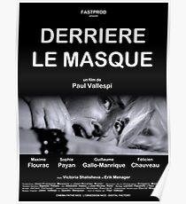 Derrière le Masque - Affiche Poster