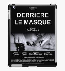 Derrière le Masque - Affiche iPad Case/Skin
