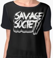 Savage Society Dubstep Chiffon Top