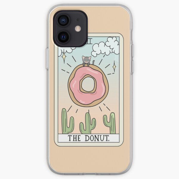 DONUT READING iPhone Soft Case
