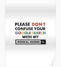 Medical Degree Poster