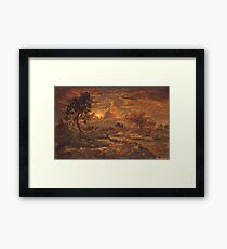 Henri Rousseau - Sunset Near Arbonne Framed Print