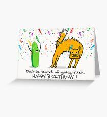 Scary Birthday! Greeting Card