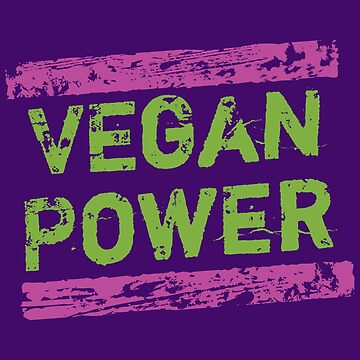 Vegan Power | Pink & Green by hmx23