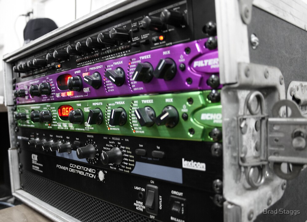 Audio Racks by Brad Staggs