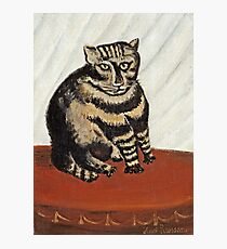 Henri Rousseau - The Tabby Photographic Print