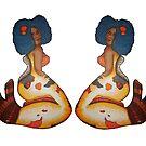 koi mermaid (dou) by Briana  G.