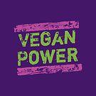 Vegan Power | Pink & Green by hmx23