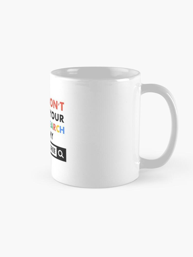 Alternate view of Biology Degree Mug