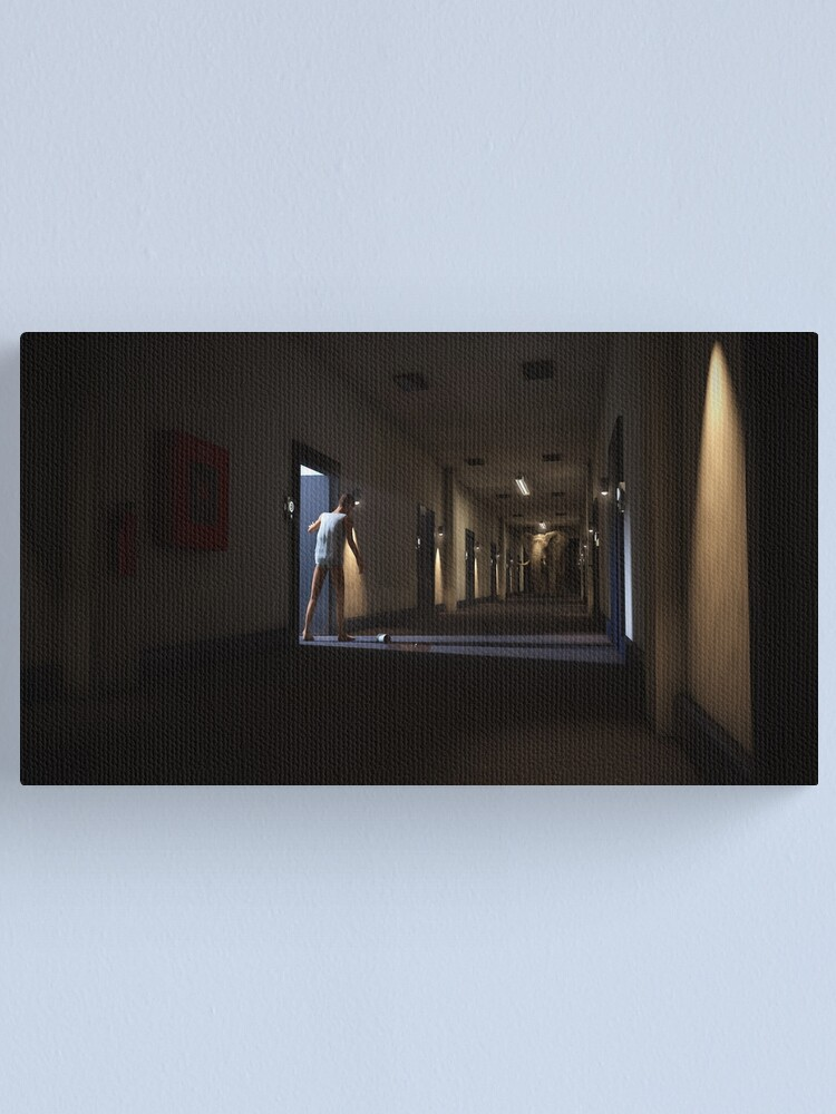Alternate view of A Limit Canvas Print