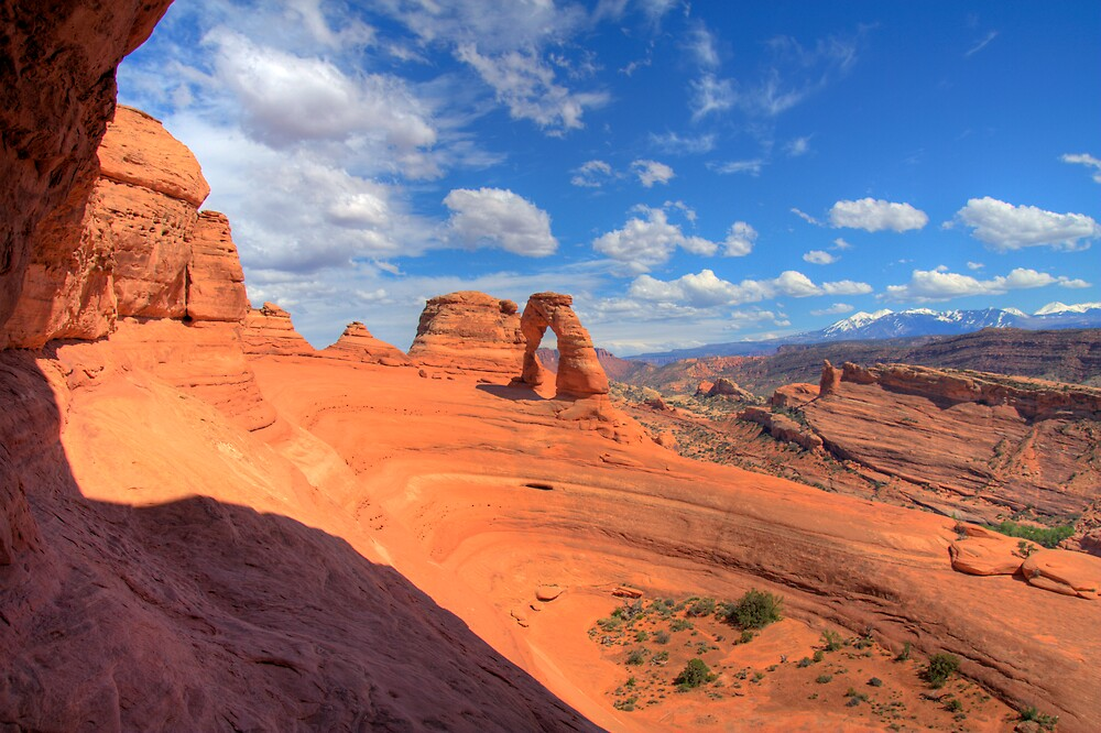 Delicate Arch from the Portal by Scott Ingram
