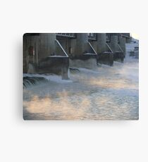 Red River at Lockport  Canvas Print