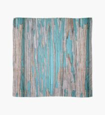 Shabby rustic weathered wood turquoise Scarf