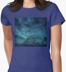 Lost in the ocean Womens Fitted T-Shirt
