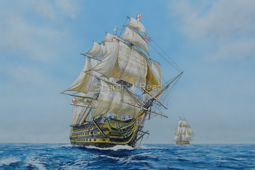 HMS Victory by Sharon  Read