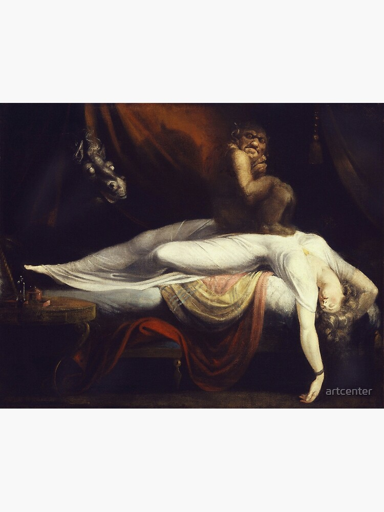 Henry Fuseli - The Nightmare1781 by artcenter