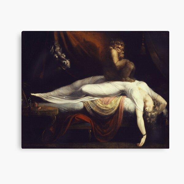 Henry Fuseli - The Nightmare1781 Canvas Print