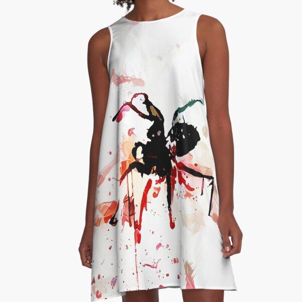 Murder Spider The Nth A-Line Dress