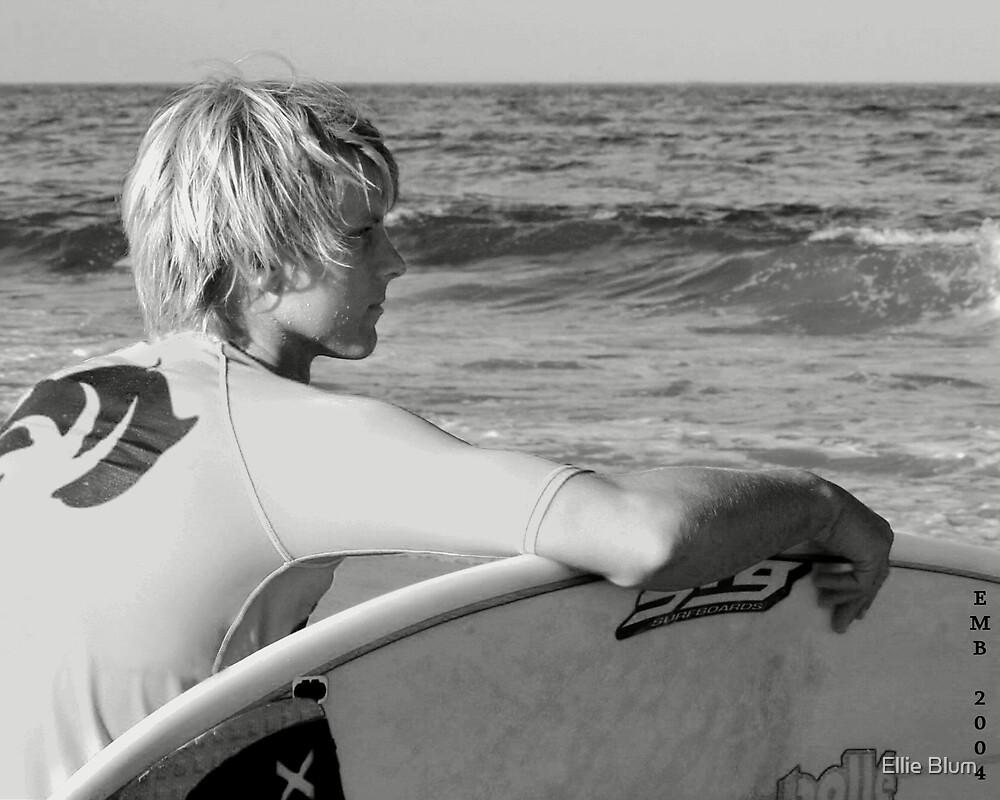 waitin for a wave by Ellie Blum