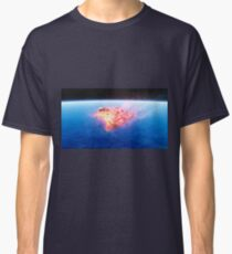 burning red fire meteorite falling to earth Classic T-Shirt
