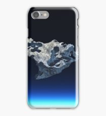 meteorite in space iPhone Case/Skin