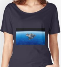 meteorite outerspace Women's Relaxed Fit T-Shirt