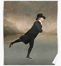 Henry Raeburn - Reverend Dr Robert Walker (1755 - 1808) Skating On Duddingston Loch Poster