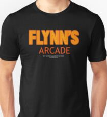 Tron - Flynn's Arcade Orange Orignal HD T-Shirt