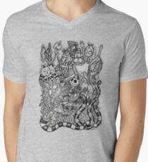 Nightmare in Wonderland Men's V-Neck T-Shirt
