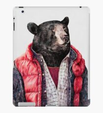 Black Bear iPad Case/Skin