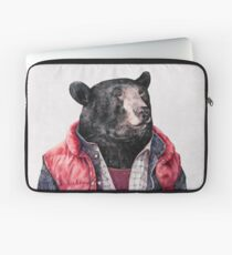 Black Bear Laptop Sleeve