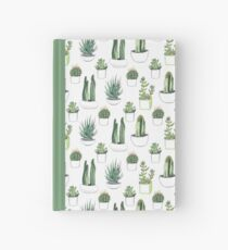 Watercolour cacti & succulents Hardcover Journal