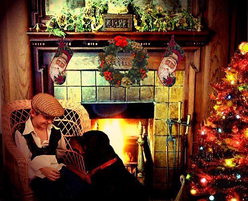 happy christmas kia my best friend by kimbob1