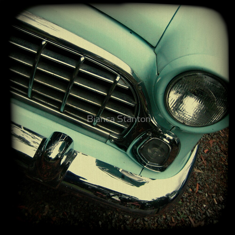 OLD CAR FRONT by Bianca Stanton