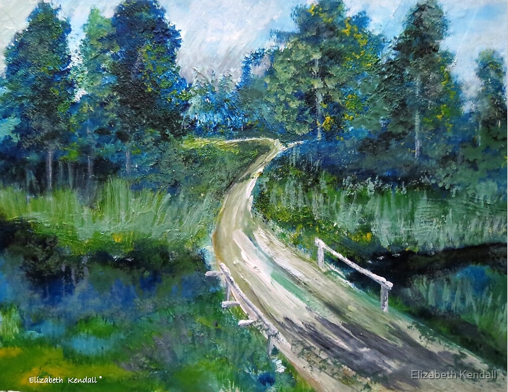 On my way by Elizabeth Kendall