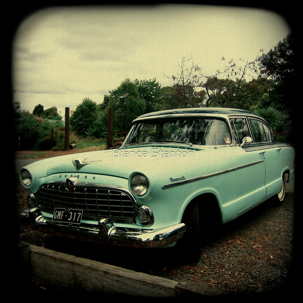 OLD CAR HUDSON by Bianca Stanton