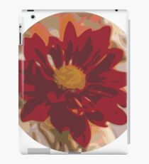 Illustrated flower painting iPad Case/Skin