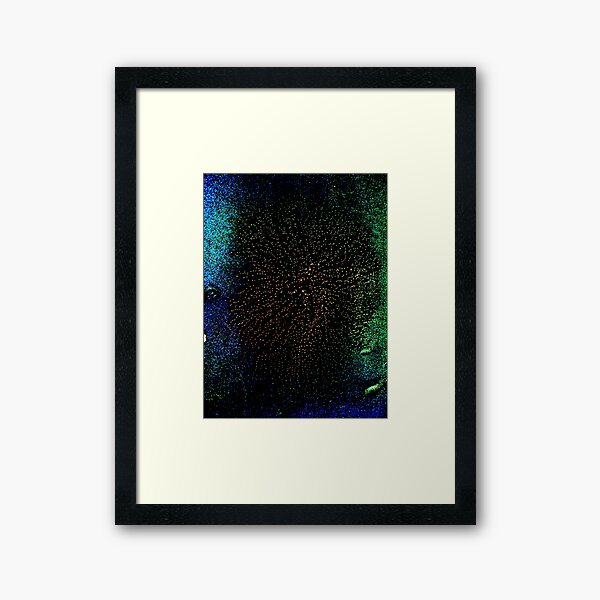 from chaos to order - age Framed Art Print