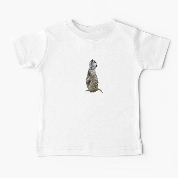 Meercat Stripes Baby T-Shirt