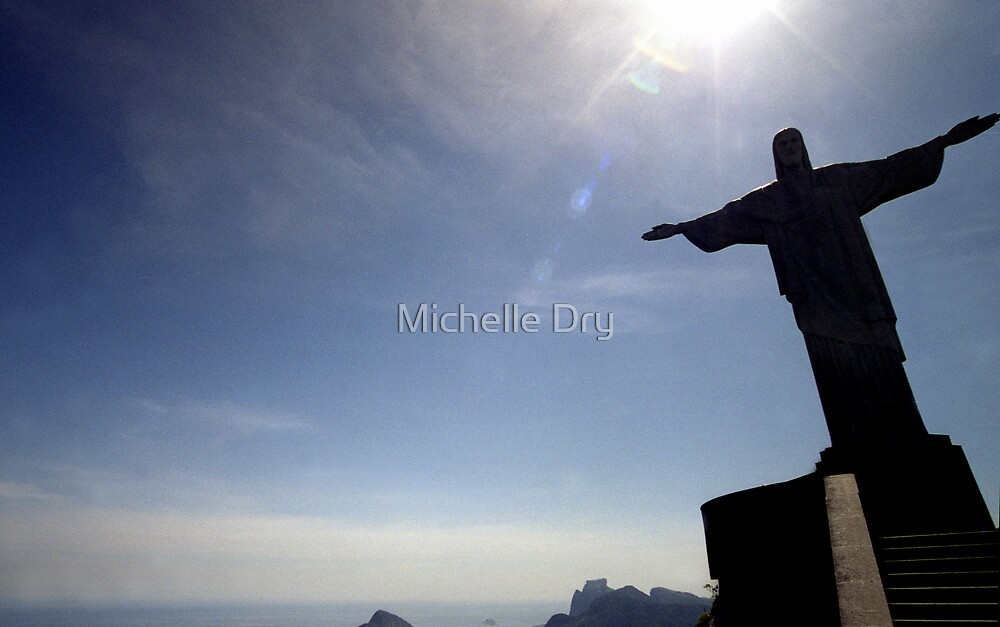 The statue of light by Michelle Dry
